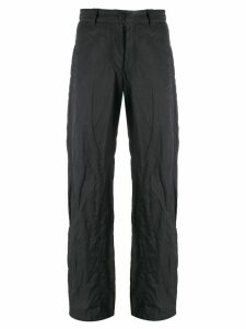 Giorgio Armani Pre-Owned 1990's buckled trousers - Grey