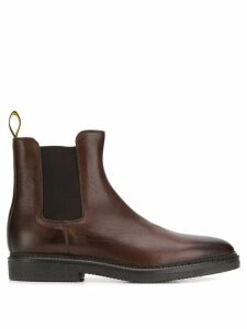 Doucal's slip-on ankle boots - Brown