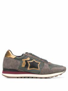 Atlantic Stars Argogany panelled sneakers - Grey