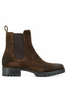 Dsquared2 ridged sole ankle boots - Brown