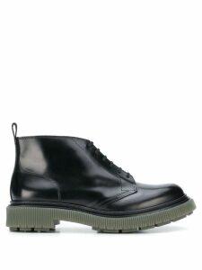 Adieu Paris lace-up ankle boots - Black