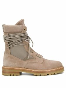 Amiri laced army boots - Neutrals