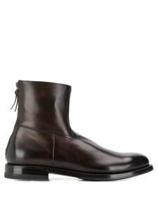 Silvano Sassetti zipped ankle boots - Brown