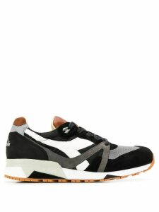 Diadora low top stitching sneakers - Black
