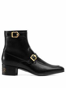 Gucci Sucker buckle boots - Black