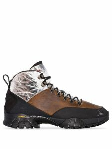 Roa Andreas panelled hiking boots - Brown