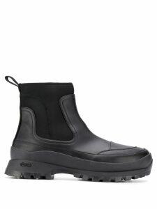 Stella McCartney chunky slip-on boots - Black