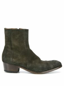 Silvano Sassetti suede ankle boots - Green