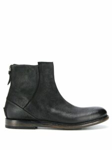 Silvano Sassetti leather ankle boots - Brown