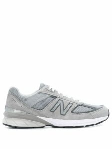 New Balance logo patch low top sneakers - Grey