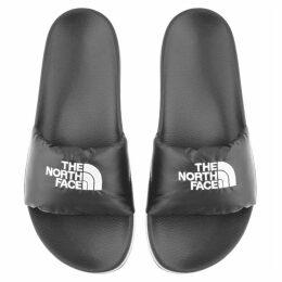 The North Face Nuptse Sliders Black