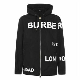 Burberry All Over Logo Jacket