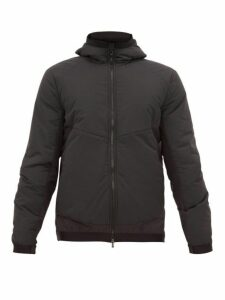 Sease - Layered Hooded Technical Jacket - Mens - Dark Grey