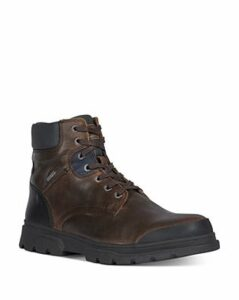 Geox Men's Clintford Lace-Up Boots