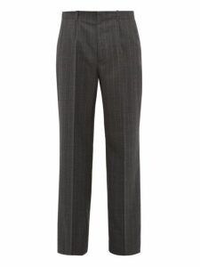 Our Legacy - Borrowed Wide Leg Trousers - Mens - Grey