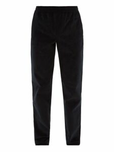 Éditions M.r - Jean Francois Cotton Corduroy Tapered Trousers - Mens - Navy