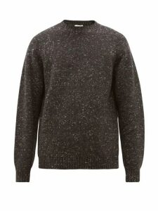 The Row - Ezra Camel Blend Sweater - Mens - Dark Grey