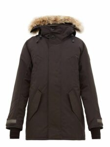 Canada Goose - Edgewood Hooded Down Filled Parka - Mens - Black