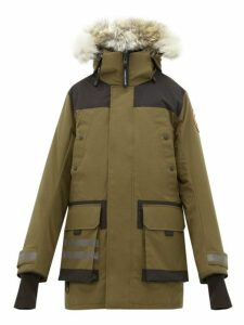 Canada Goose - Erickson Hooded Down Filled Parka - Mens - Green