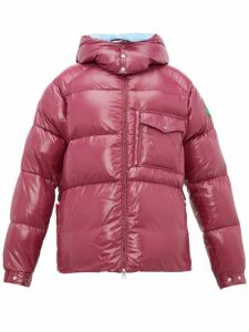 2 Moncler 1952 - Barthet Quilted Shell Padded Jacket - Mens - Purple