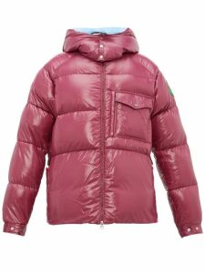2 Moncler 1952 - Barthet Quilted-shell Padded Jacket - Mens - Purple