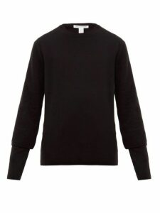 Comme Des Garçons Shirt - Double Sleeve Wool Sweater - Mens - Black