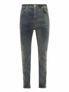 Rick Owens Drkshdw - Detroit Slim Leg Jeans - Mens - Blue
