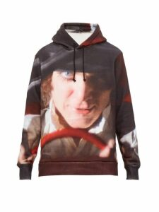 Undercover - A Clockwork Orange Print Cotton Hooded Sweatshirt - Mens - Black Multi