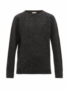 Margaret Howell - Saddle Crew Neck Cashmere Sweater - Mens - Black