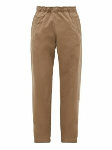 Mhl By Margaret Howell - Mhl Elasticated Waist Cotton Trousers - Mens - Khaki
