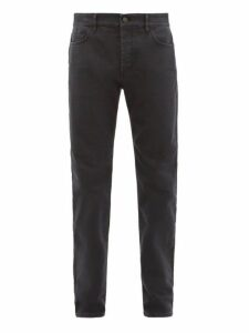 The Row - Irwin Slim Fit Faded Jeans - Mens - Black