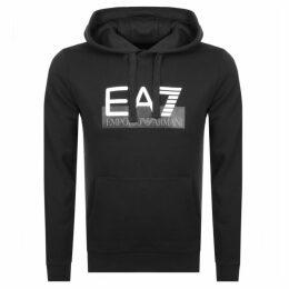 EA7 Emporio Armani Visibility Logo Hoodie Black