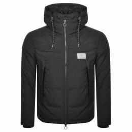 Armani Exchange Quilted Down Jacket Black