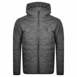 Luke 1977 Quilted Hooded Jacket Grey