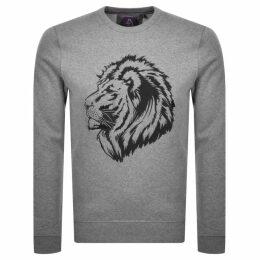 Luke 1977 Bonds Embroidered Sweatshirt Grey
