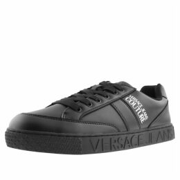 Versace Jeans Couture Cassetta Logo Trainers Black