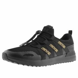 Versace Jeans Couture Logo Trainers Black
