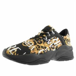 Versace Jeans Couture Extreme Logo Trainers Black