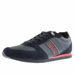 Versace Jeans Couture Logo Trainers Navy