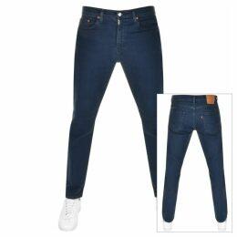 Levis 502 Regular Tapered Jeans Blue