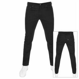 Levis 512 Slim Tapered Jeans Black