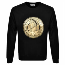 Versace Jeans Couture Logo Sweatshirt Black
