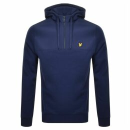 Lyle And Scott Pullover Softshell Hoodie Navy