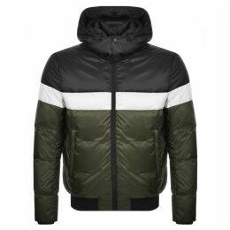 Emporio Armani Full Zip Hooded Jacket Black