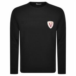 Versace Collection Crew Neck Sweatshirt Black