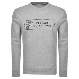 Versace Collection Crew Neck Sweatshirt Grey
