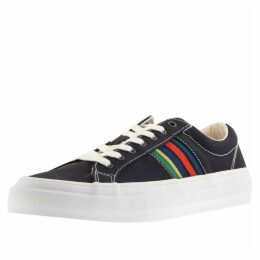 PS By Paul Smith Antilla Suede Trainers Navy