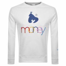Money United Colours Of Money Sweatshirt White