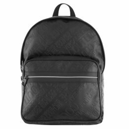 Versace Jeans Couture Logo Backpack Black