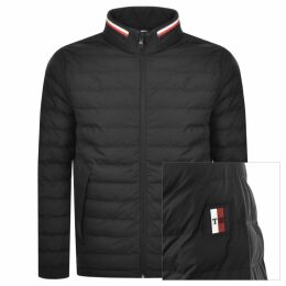 Tommy Hilfiger Stretch Quilted Jacket Black
